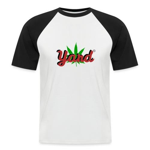 yard 420 - Mannen baseballshirt korte mouw