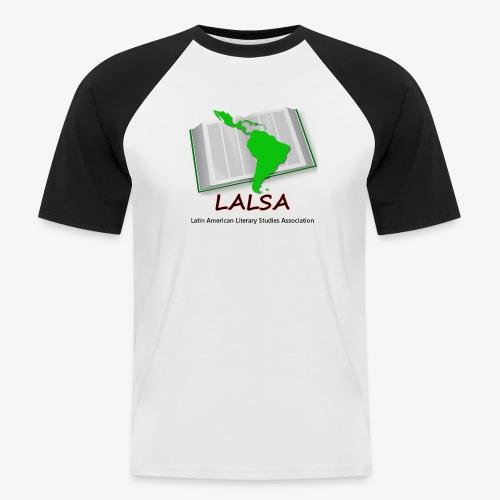 LALSA Dark Lettering - Men's Baseball T-Shirt