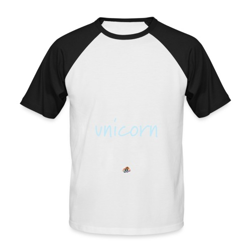 Crazy Unicorn - Dark - Men's Baseball T-Shirt