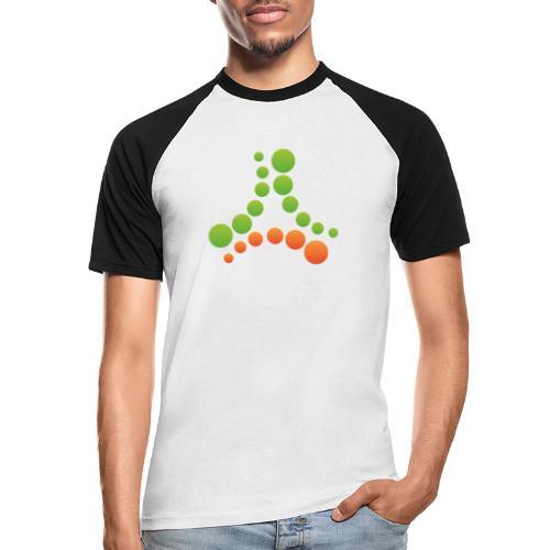 logotipo - Maglia da baseball a manica corta da uomo
