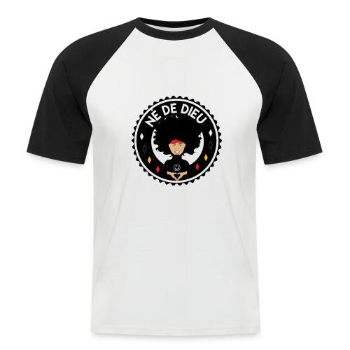 ne de Dieu - T-shirt baseball manches courtes Homme