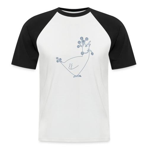 Cosmic Chicken - Men's Baseball T-Shirt