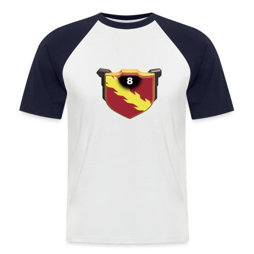 ESCUDO-01 - Camiseta béisbol manga corta hombre