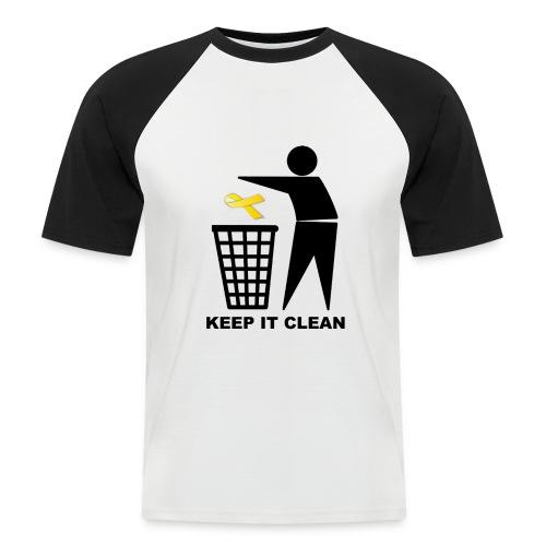 Keep it clean Lazo - Camiseta béisbol manga corta hombre