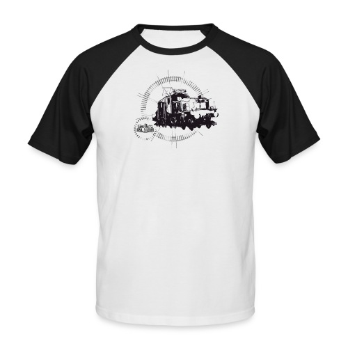 Circle Krokodil - Men's Baseball T-Shirt
