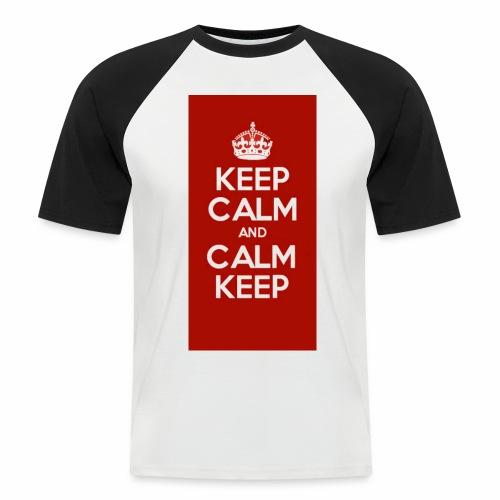 Keep Calm Original Shirt - Men's Baseball T-Shirt