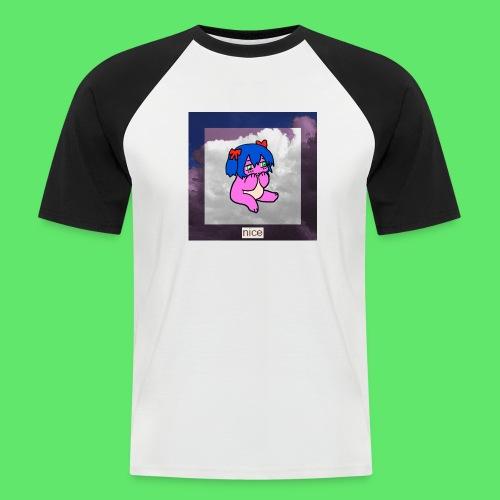 le nice girl - Men's Baseball T-Shirt