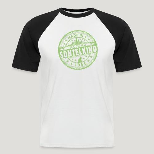 SÜNTELKIND 1966 - Das Süntel Shirt mit Süntelturm - Männer Baseball-T-Shirt