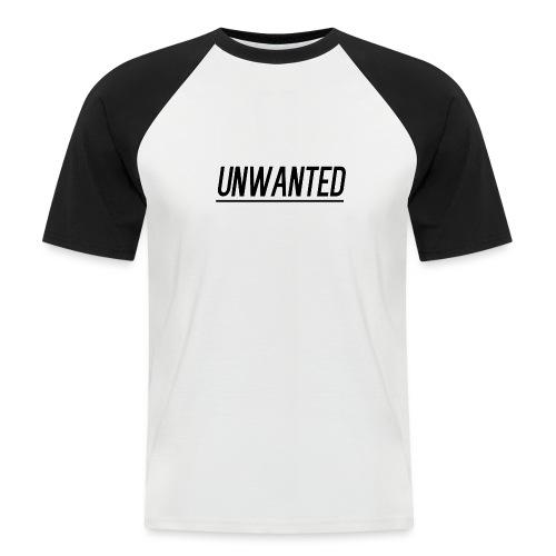 UNWANTED Logo Tee Black - Men's Baseball T-Shirt