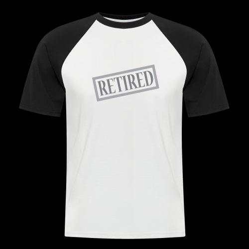 Retired - Camiseta béisbol manga corta hombre
