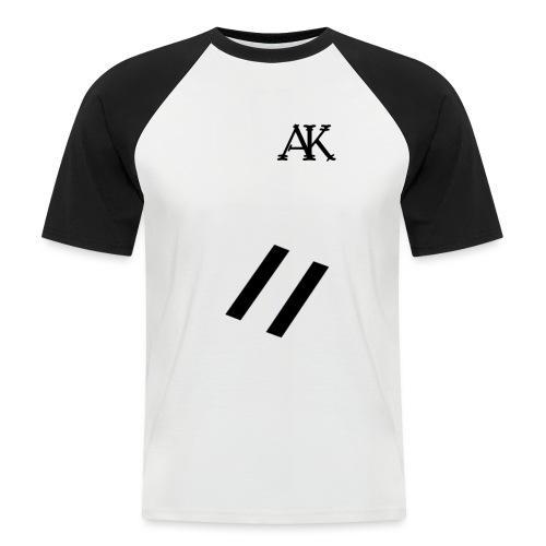 design tee - Mannen baseballshirt korte mouw