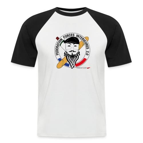 FFi Anonymous - T-shirt baseball manches courtes Homme