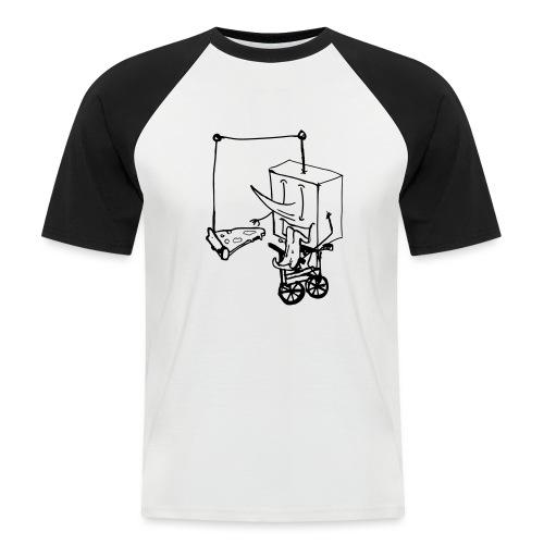 dude food - Men's Baseball T-Shirt