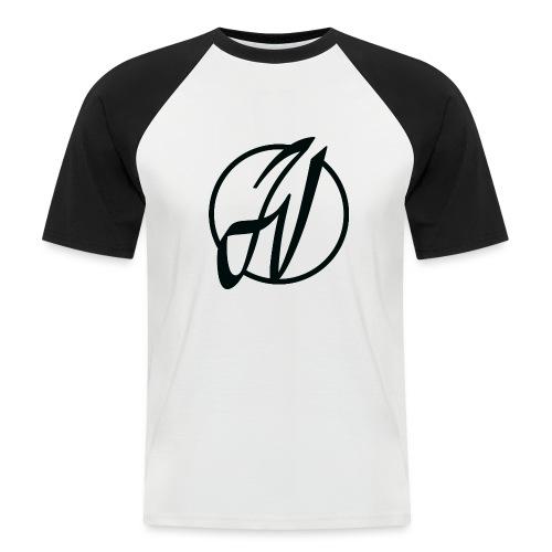JV Guitars - logo noir - T-shirt baseball manches courtes Homme