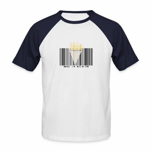 Made In Belgium - T-shirt baseball manches courtes Homme