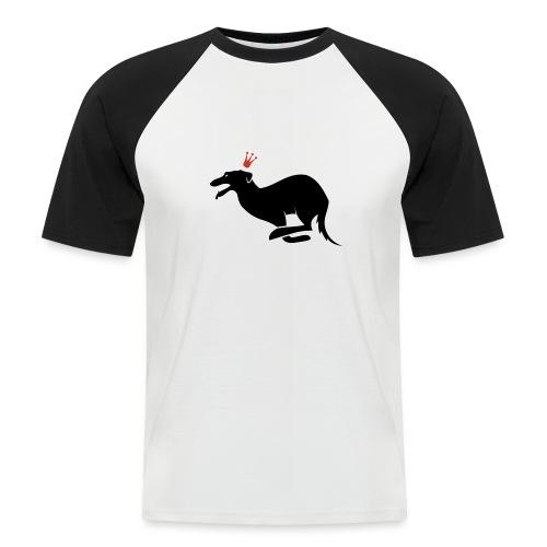 Galgo rey - Camiseta béisbol manga corta hombre
