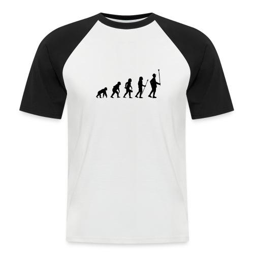 Stabführer Evolution - Männer Baseball-T-Shirt