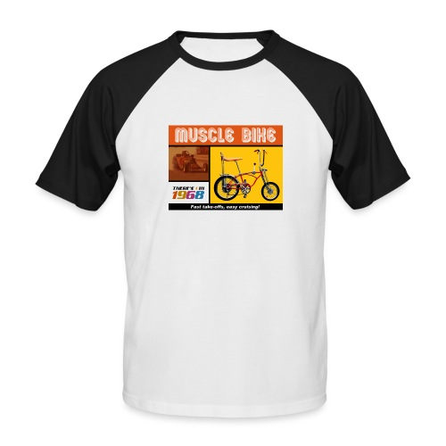 musclebike05 - T-shirt baseball manches courtes Homme