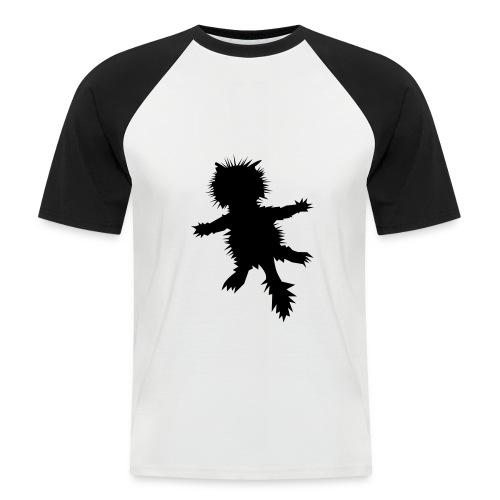 Asphalt-Tiger - Männer Baseball-T-Shirt