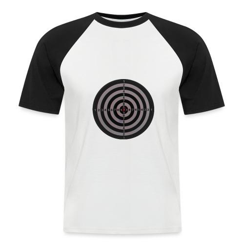 bullseye - Mannen baseballshirt korte mouw