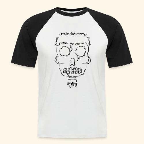 Tête de Mort - T-shirt baseball manches courtes Homme
