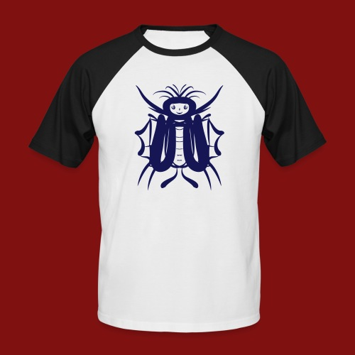 butterflyman - Männer Baseball-T-Shirt