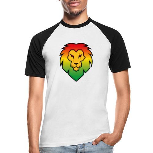 Ragga Lion - Men's Baseball T-Shirt