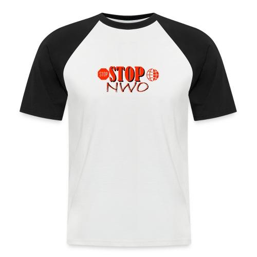 STOPNWO1 - Koszulka bejsbolowa męska