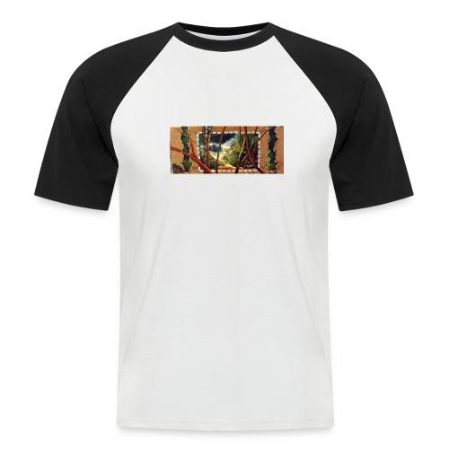 Deep Mint Insight Men's T- Shirt - Men's Baseball T-Shirt