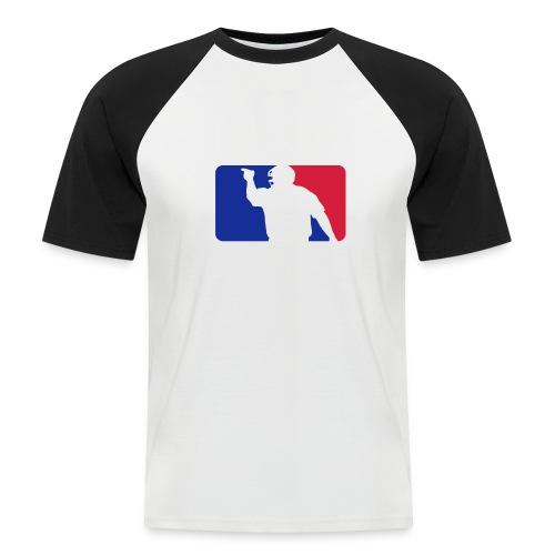 Baseball Umpire Logo - Men's Baseball T-Shirt