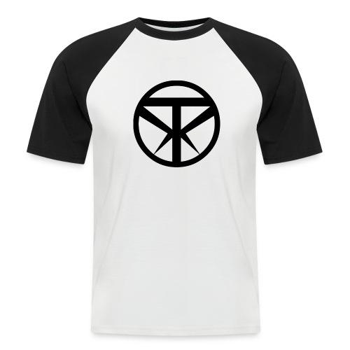 Tridex Logo Black - Men's Baseball T-Shirt