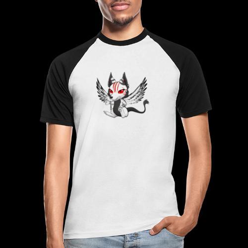 Démon Wolfire - T-shirt baseball manches courtes Homme
