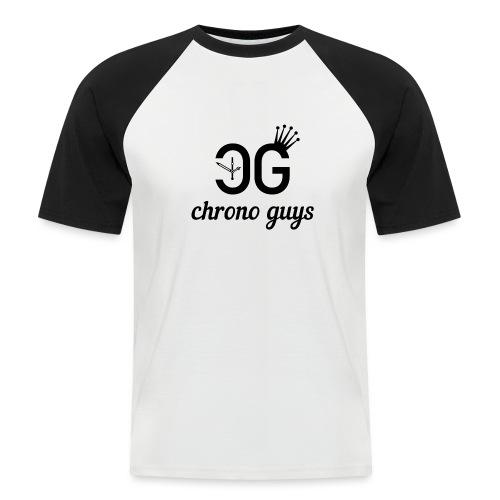 Svart Logga T-Shirt - Kortärmad basebolltröja herr