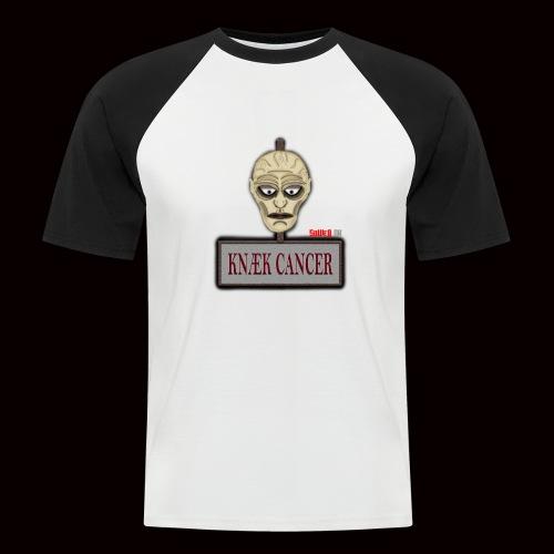 Knæk Cancer Kollektion ! - Kortærmet herre-baseballshirt