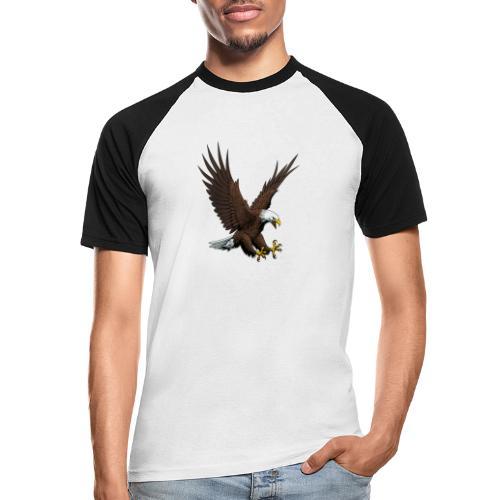 Adler sturzflug - Männer Baseball-T-Shirt