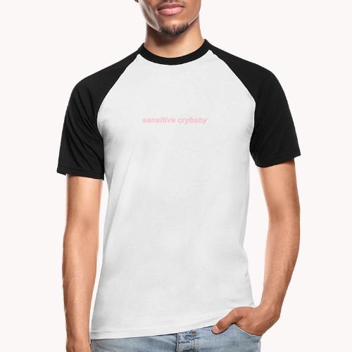 Sensitive crybaby - Camiseta béisbol manga corta hombre