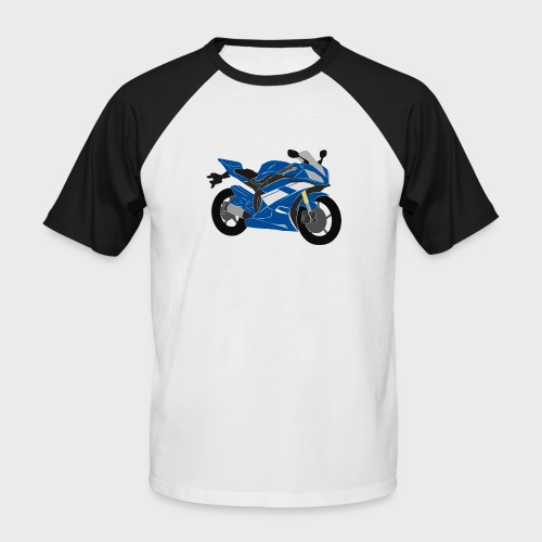 R6NICK Bike - Men's Baseball T-Shirt