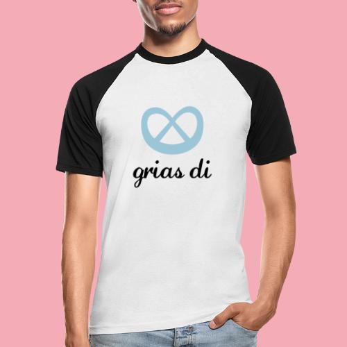 Grias Di - Breze - Männer Baseball-T-Shirt