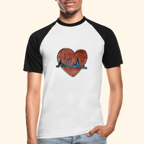 Cardio - Camiseta béisbol manga corta hombre