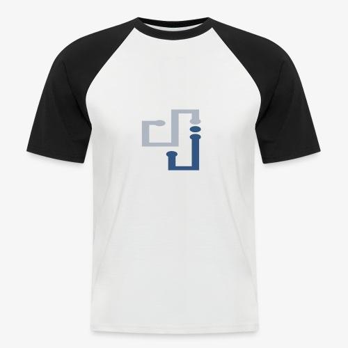 Amo la música DJ - Camiseta béisbol manga corta hombre