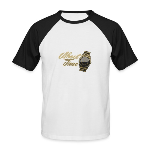 Its about time - Men's Baseball T-Shirt