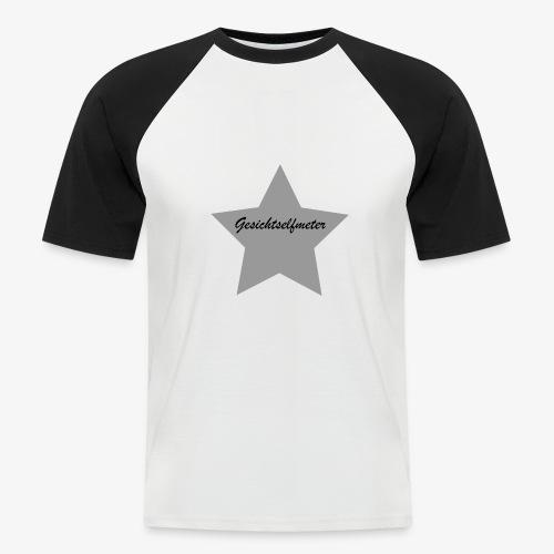 Gesichtselfmeter - Männer Baseball-T-Shirt