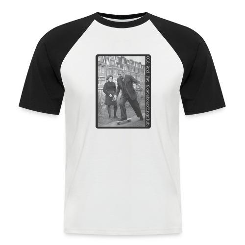 skateboard - Men's Baseball T-Shirt