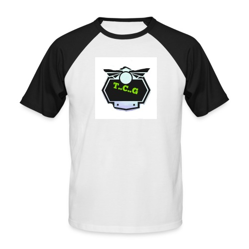 Cool gamer logo - Men's Baseball T-Shirt