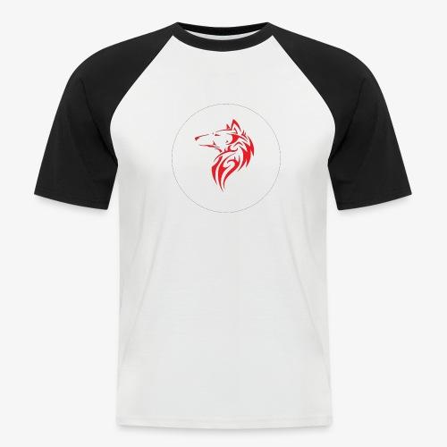 The NoCopyright BassBooster Logo No black - Mannen baseballshirt korte mouw
