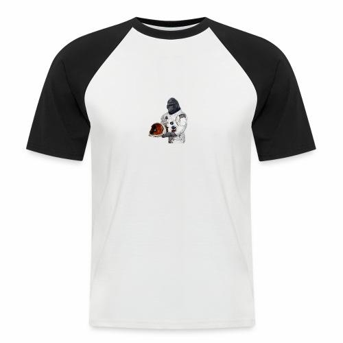 Apes in Space - Men's Baseball T-Shirt