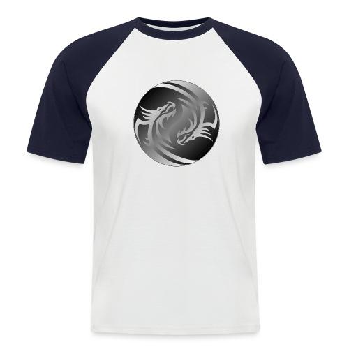 Yin Yang Dragon - Men's Baseball T-Shirt