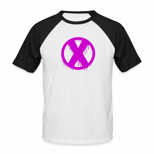 X - T-shirt baseball manches courtes Homme