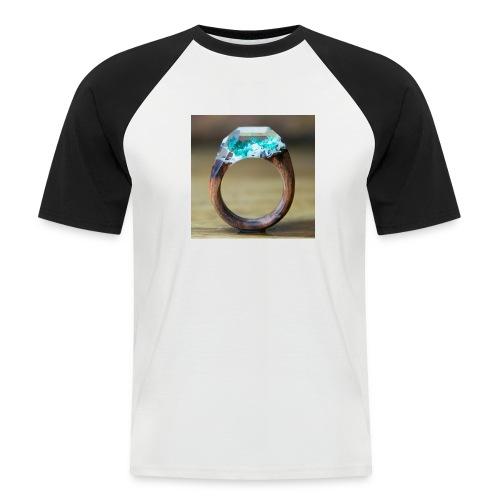 schöner Ring - Männer Baseball-T-Shirt