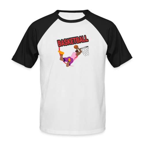 Basketball - T-shirt baseball manches courtes Homme